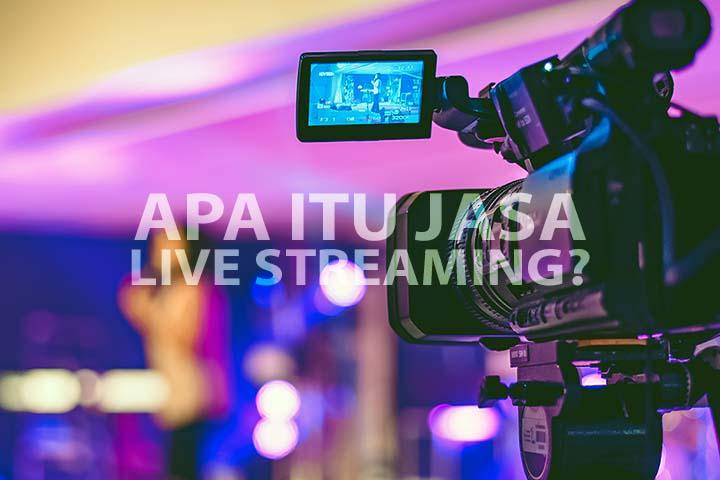 Berikut adalah penjelasan tentang Apa itu Jasa Live Streaming? Live Streaming merupakan sebuah solusi untuk mengadakan acara/event saat ini...